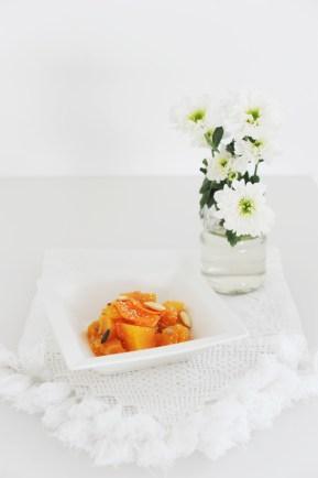 Insalata zucca arancia e semi di girasole https://gikitchen.wordpress.com/2014/10/16/insalata-di-zucca-arancia-semi-di-girasole/