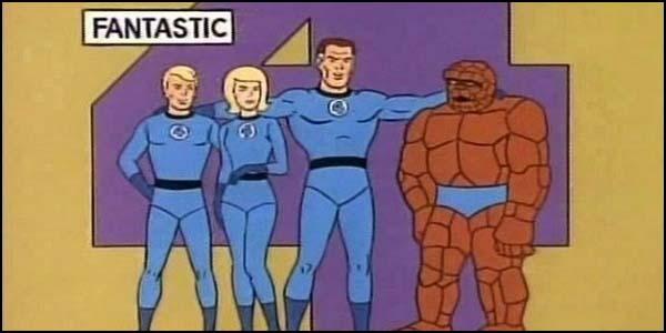 Фантастическая четверка (1967)