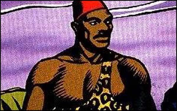 Первый чернокожий супергерой