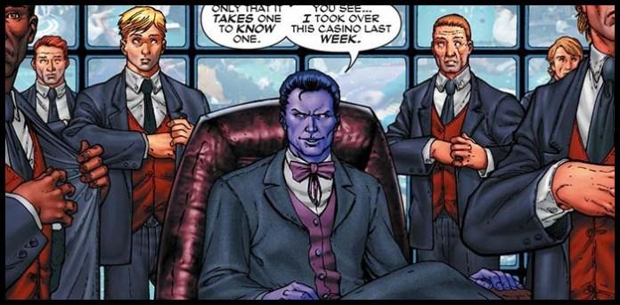 марвел Пурпурный Человек комикс биография