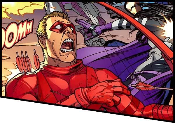 Красная стела (Арсенал) DC история
