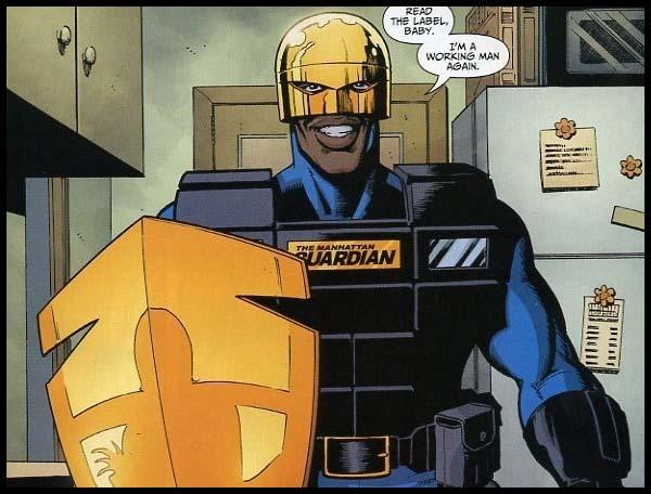 Страж DC комиксы