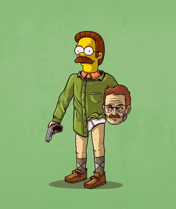 Уолтер Уайт без маски