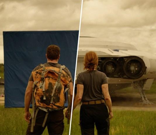 До и после спецэффектов: Затерянные в космосе