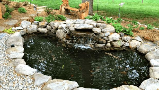 volume air kolam