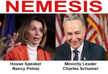 Speaker Nancy Pelosi and Minority Leader Charles Schumer