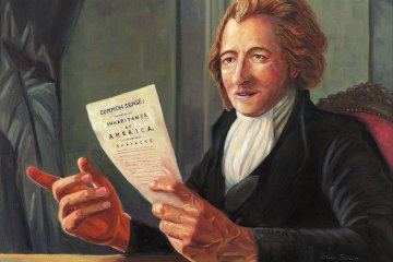 Founding father, Thomas Paine