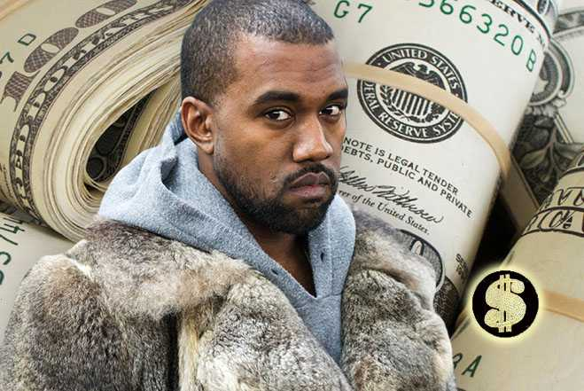 Kanye West Laughing All The Way To The Bank