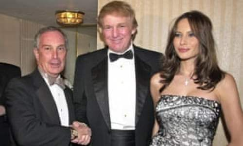When Michael Bloomberg and Donald Trump were besties