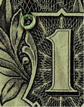 15 cosas que usted nunca ha notado en un billete de 1 dólar. (3/6)