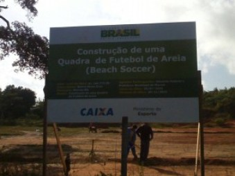 Placa Beach Soccer