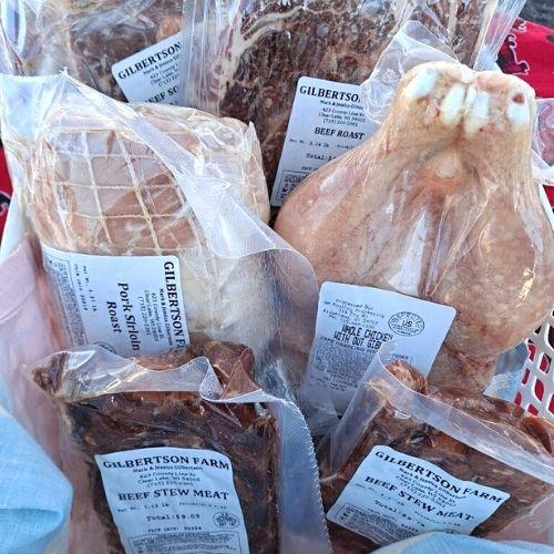 Gilbertson Farm Crockpot Pack.