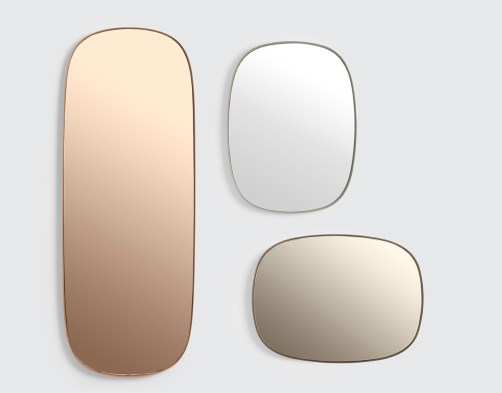 Miroirs, trois couleurs , Anderssen & Voll, Muuto.