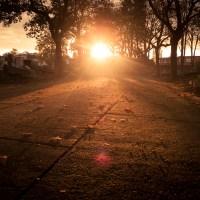 Autumn Fantasy : Lumière dans le cimetière