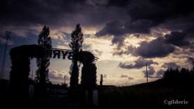 Tempête sur le labyrinthe (Barvaux, Belgique) - Photo : Gilderic