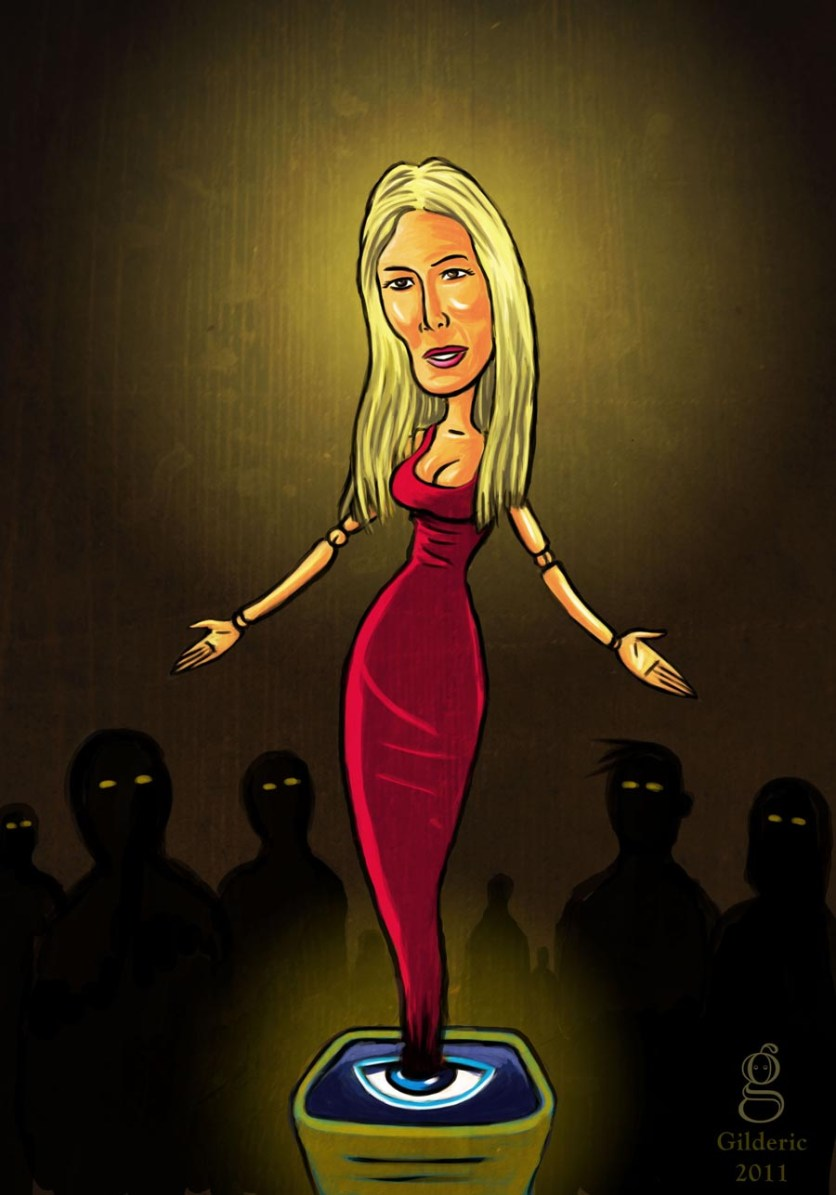 Pop Icons : Marie remporte Secret Story 5 - Dessin de Gilderic