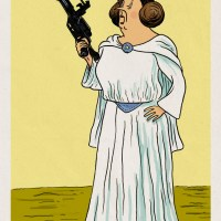 Tintin vs Star Wars V : Princesse Leia Castafiore