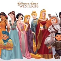 Game of Thrones vs Princesses Disney