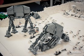 Bataille sur Hot (Star Wars en Lego, FACTS 2014) - Photo : Gilderic