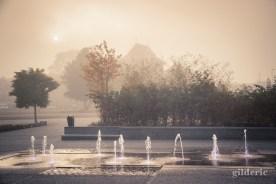 Jeux d'eau et de mystère... (Liège-Guillemins)