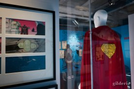 "Dessins et costume du film ""Superman"""