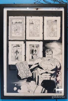 """""""Superman"""" par Mike Mignola"""