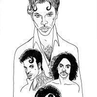 Les visages de Prince