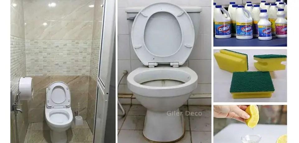 cara cuci tandas