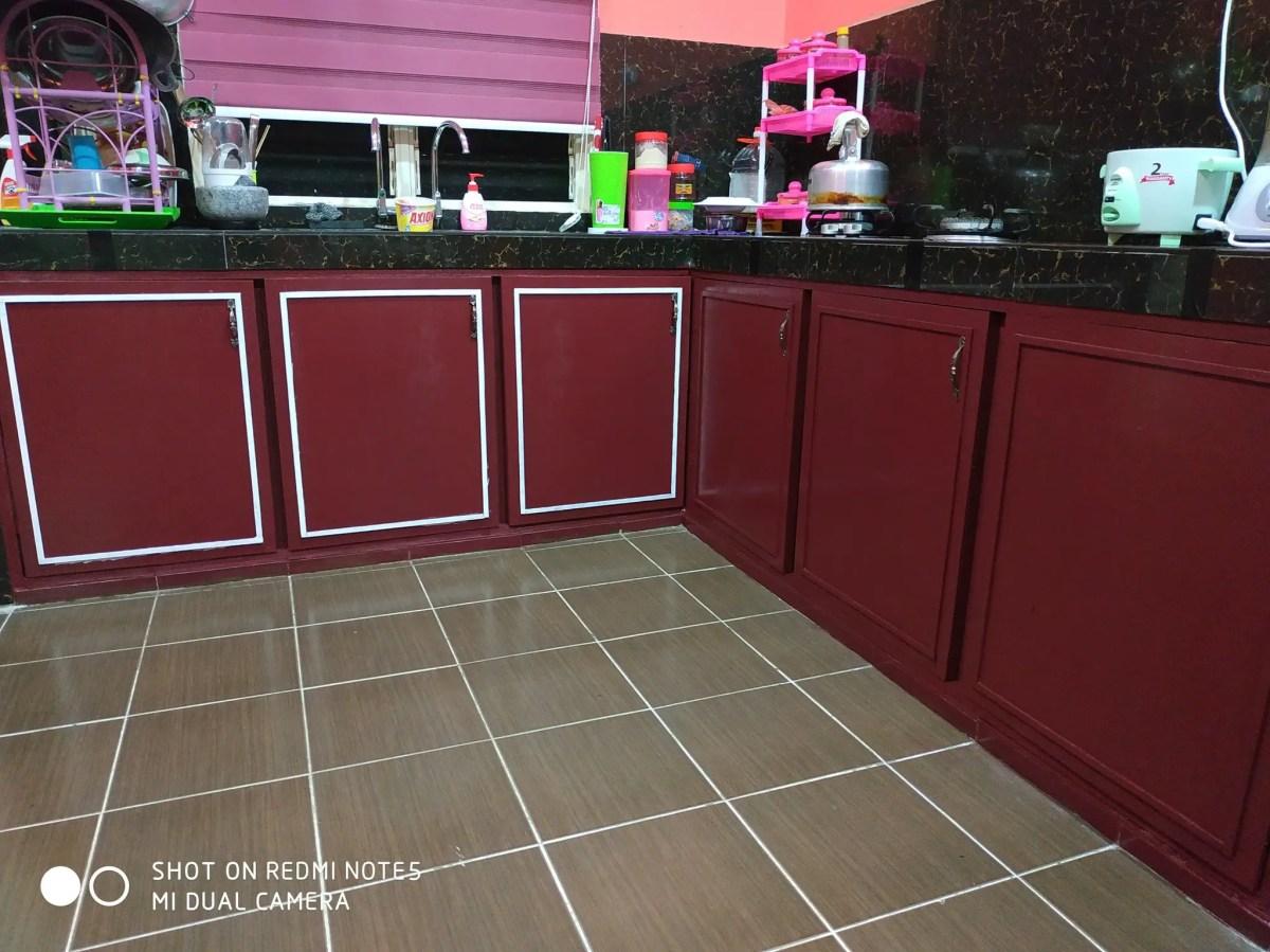 DIY kabinet dapur
