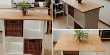 makeover dapur kitachen island