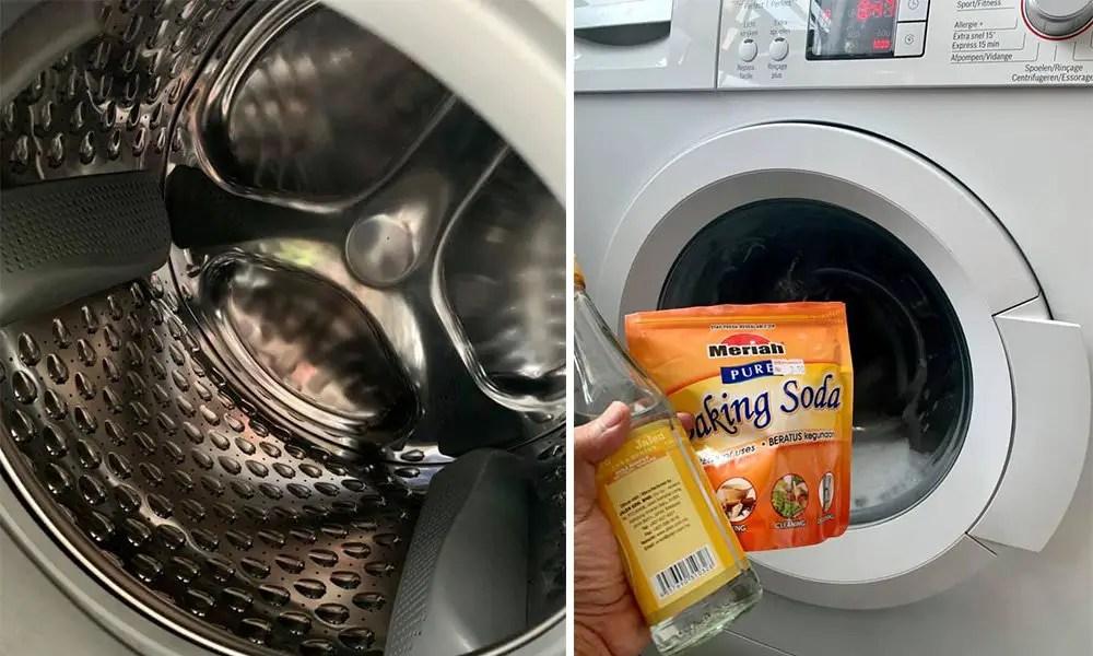 Cara Cuci Mesin Basuh