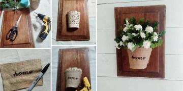 DIY Wall Bouquet