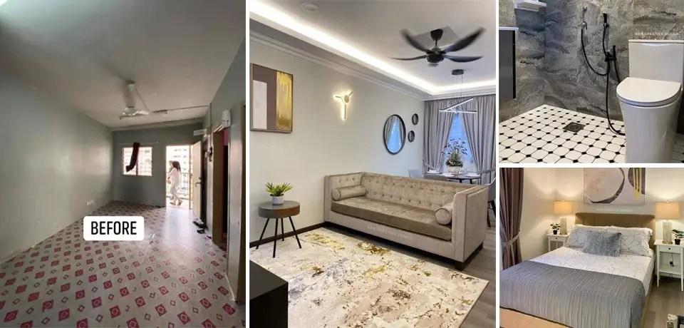 transformasi rumah kos rendah