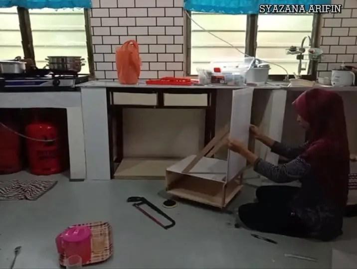 DIY Meja Usang
