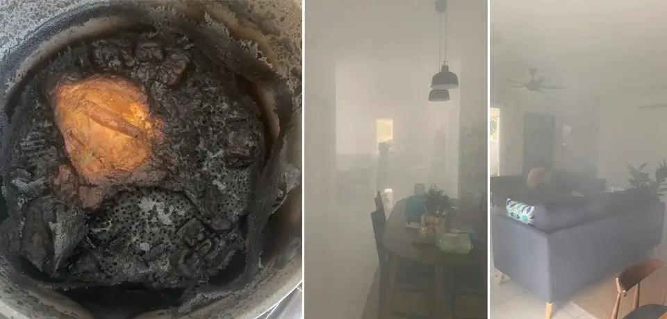 punca kebakaran di dapur