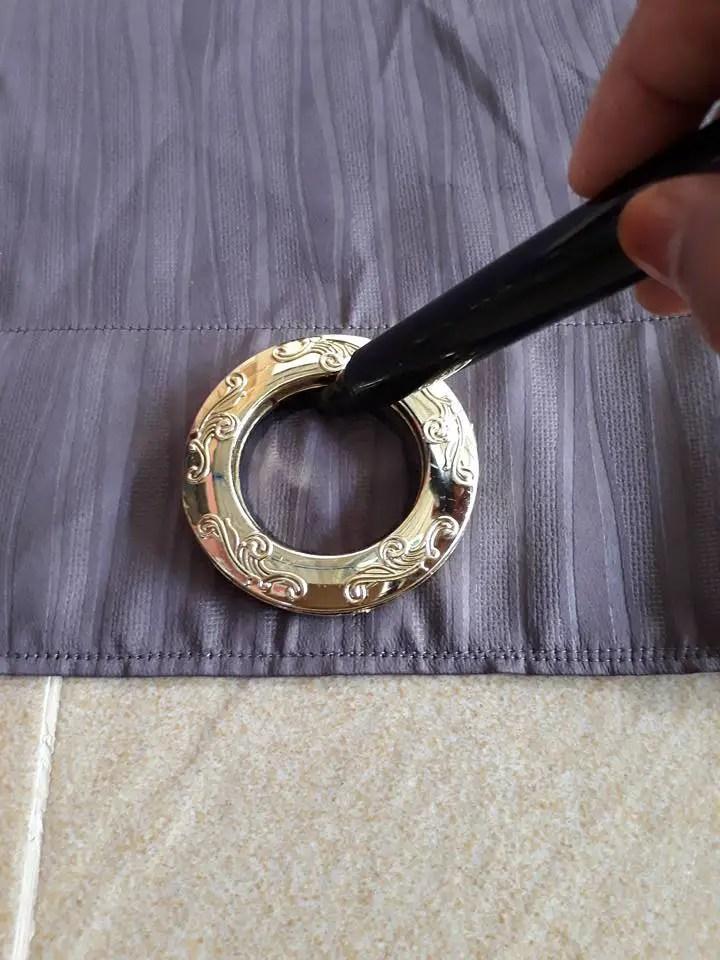 DIY Langsir Eyelet
