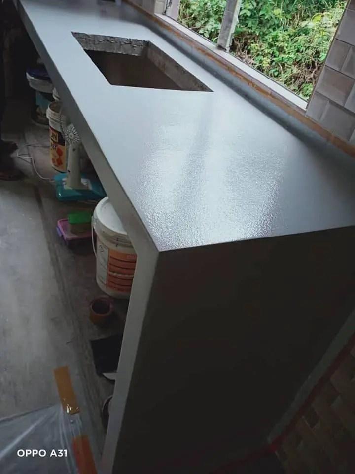 DIY table top marble