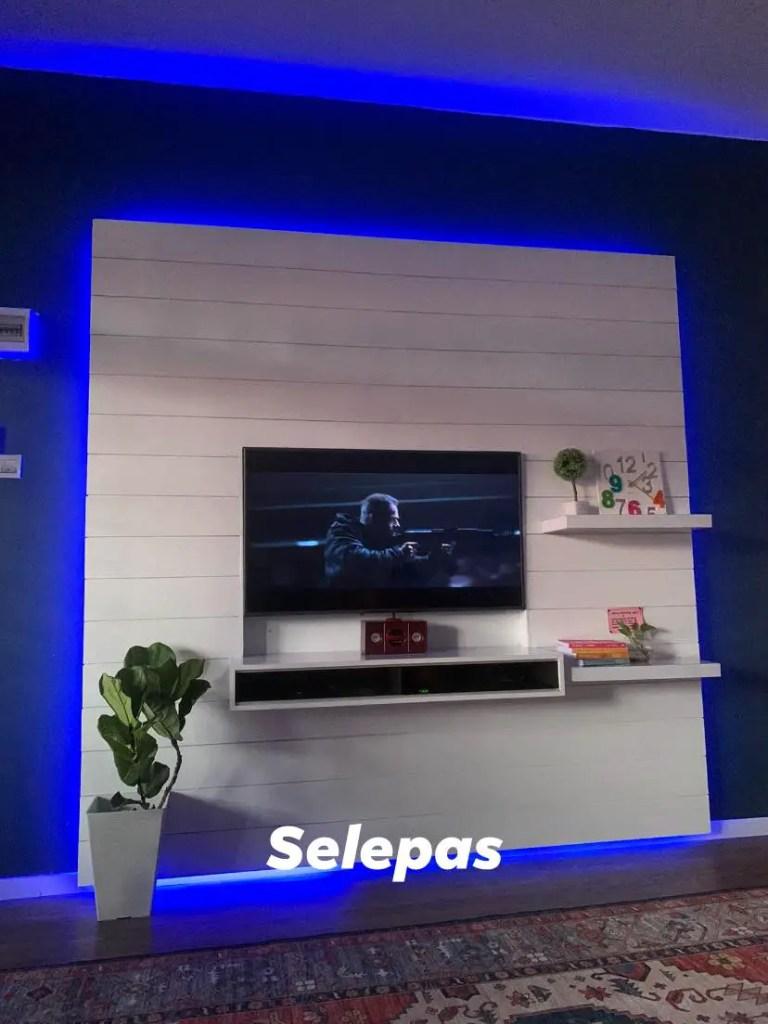 DIY Kabinet TV Bajet