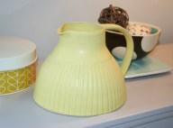 Yellow jug by Kate Garwood on folksy