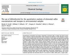 Kurek et al., Chemical Geology 2018