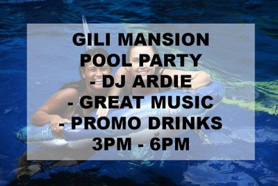Gili Mansion party