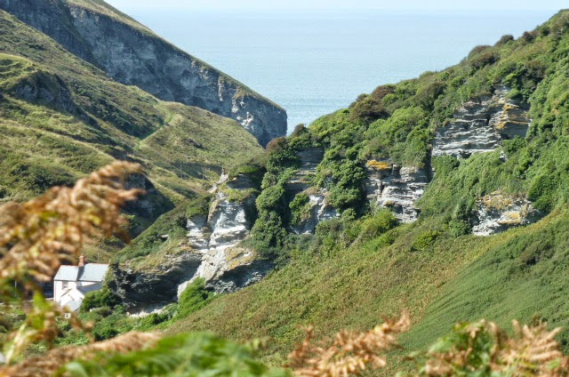 Near Tintagel