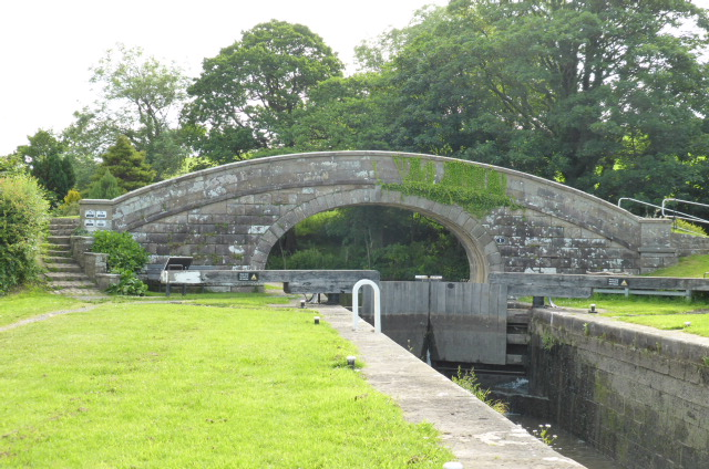 Lock 1 on the Glasson Branch