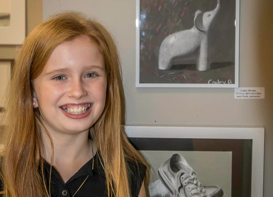 Cailey's First Art Show