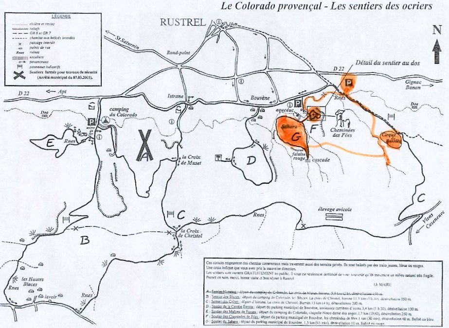 plan de Rustrel