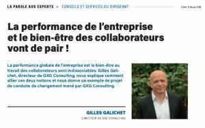 La performance de l'entreprise et le bien-être des collaborateurs vont de pairs !