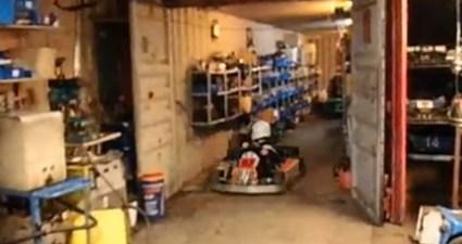 go cart parking