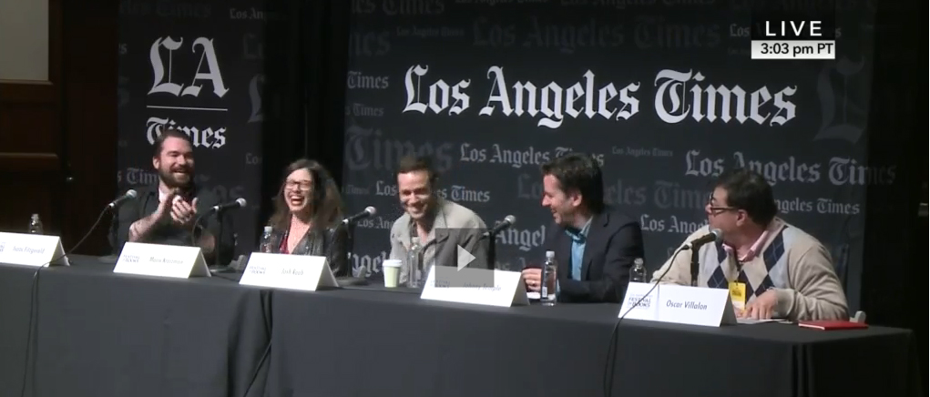 BookTV LATFOB publishing panel
