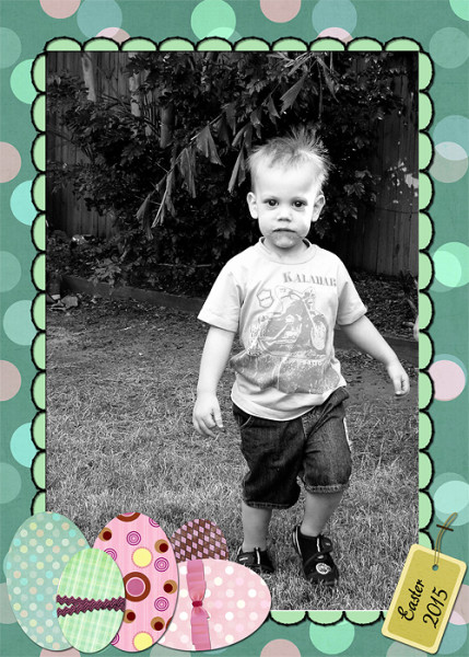 Gillian Foley Photography | Easter Frame Freebie