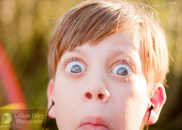 Great light and an unwilling model | Gillian Foley Photography